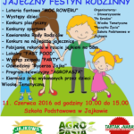 Festyn Jajkowo - plakat