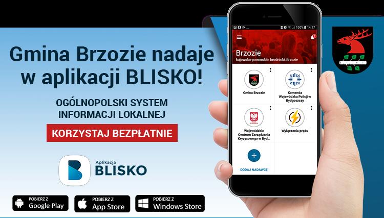 Aplikacja BLISKO - BANER