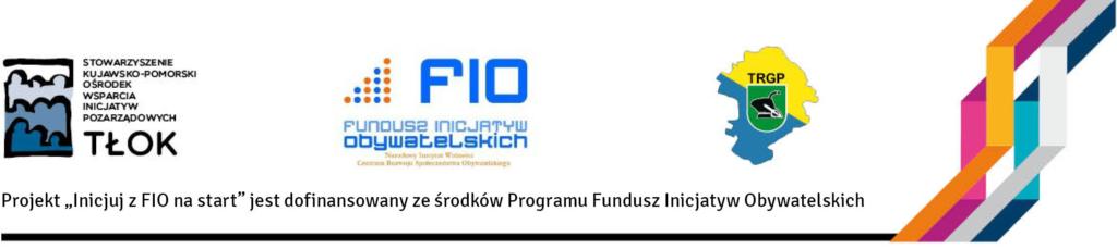 Stowarzyszenie Towarzystwo Rozwoju Gminy Płużnica, Stowarzyszenie Kujawsko-Pomorski Ośrodek Wsparcia Inicjatyw Pozarządowych Tłok, Inicjuj z FIO na start, TRGP