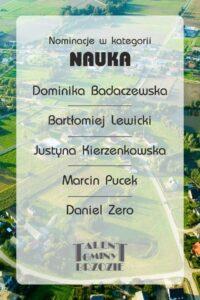 NAUKA 200x300 - Gala Talentów Gminy Brzozie