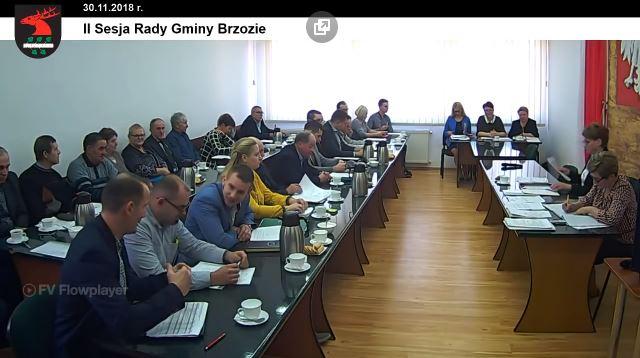 2 - Sesja Rady Gminy Brzozie on-line