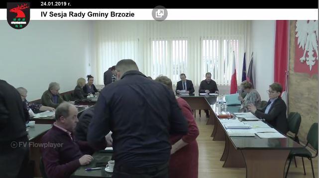 4 - Sesja Rady Gminy Brzozie on-line