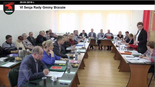 6 - Sesja Rady Gminy Brzozie on-line