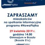 #NowaPiątka - spotkanie informacyjne