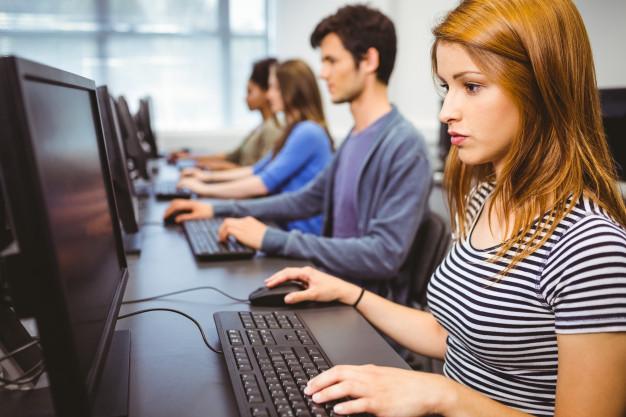 szkolenie komputerowe, studenci
