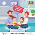 Dzieci uczą rodziców w domu – darmowe materiały do nauki w domu 150x150 - Aktualności
