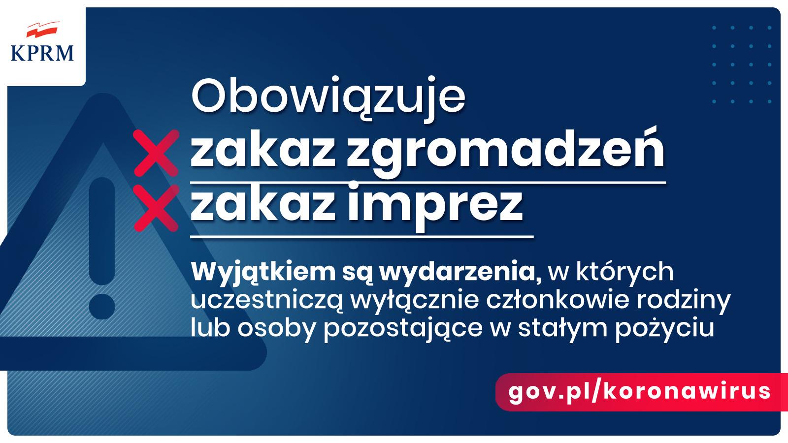 ET38xHKXgAEsVRP - Pilne: Rząd wprowadza nowe zasady bezpieczeństwa w związku z koronawirusem