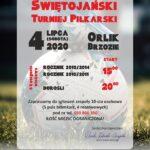 I Nocny Świętojański Turniej Piłkarski - plakat
