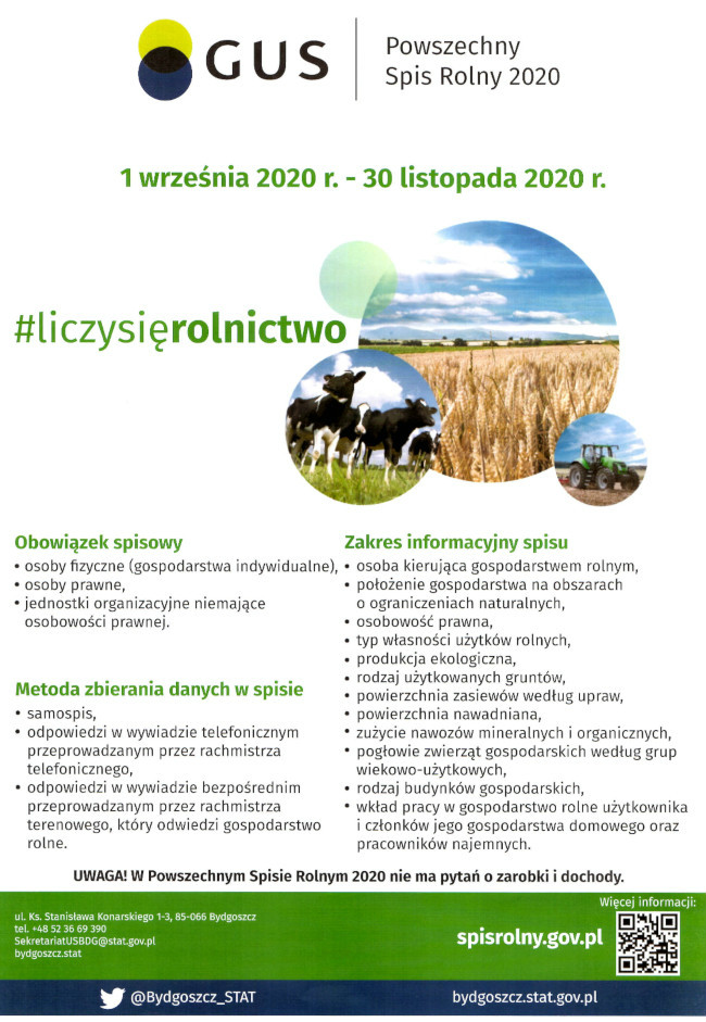 Powszechny Spis Rolny2020 - Powszechny Spis Rolny 2020