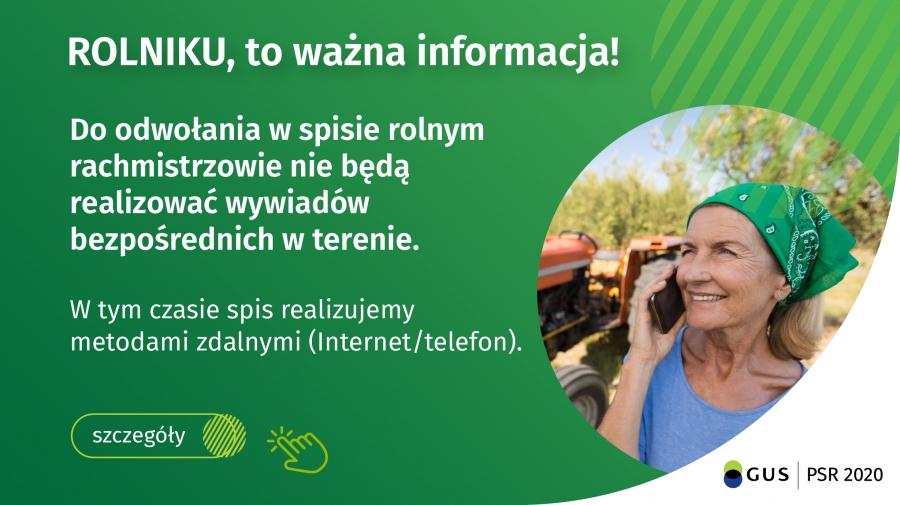 Informacja dla rolnikow - Informacja dla rolników
