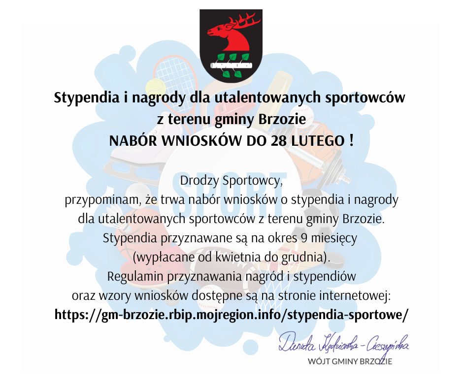 Stypendia i nagrody dla utalentowanych sportowcow - Stypendia i nagrody dla utalentowanych sportowców